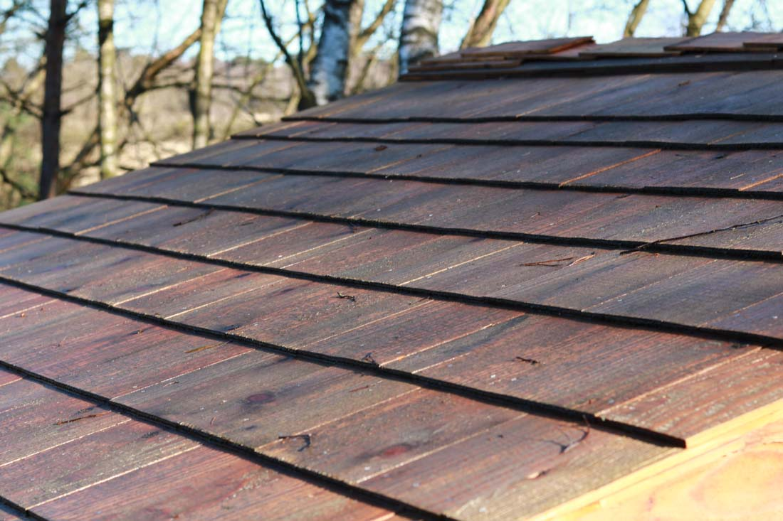 Western Red Cedar Shingles Linwood Timber Sawmill Dorset