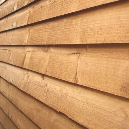 Feather edge cladding