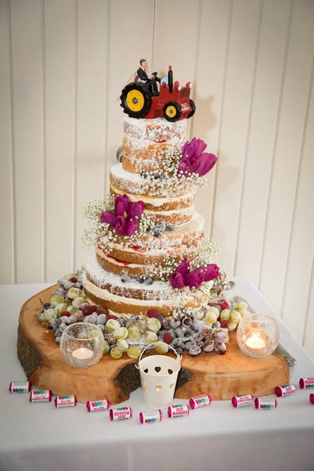Wedding Wood Cake Stand