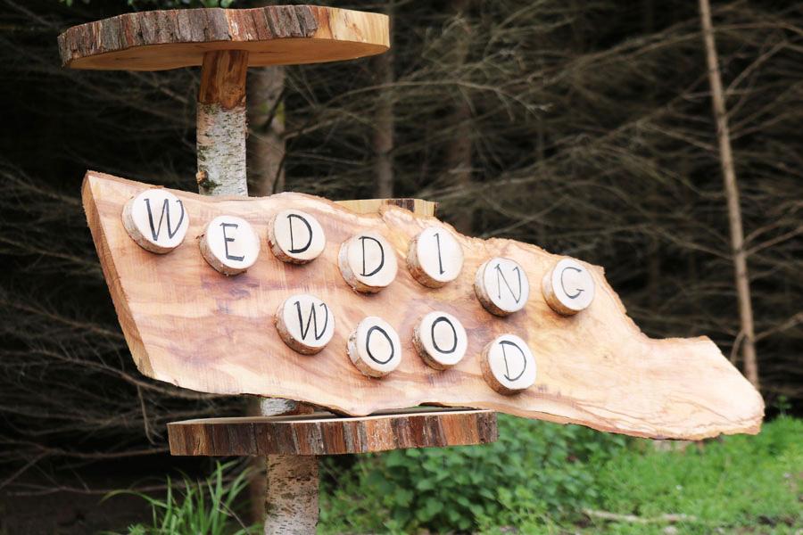 Wedding Wood Signs