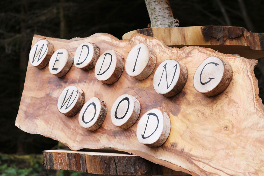 Wedding Wood Signs