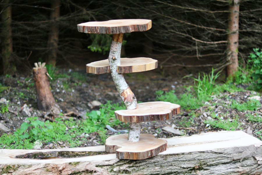 Wedding Wood Stand