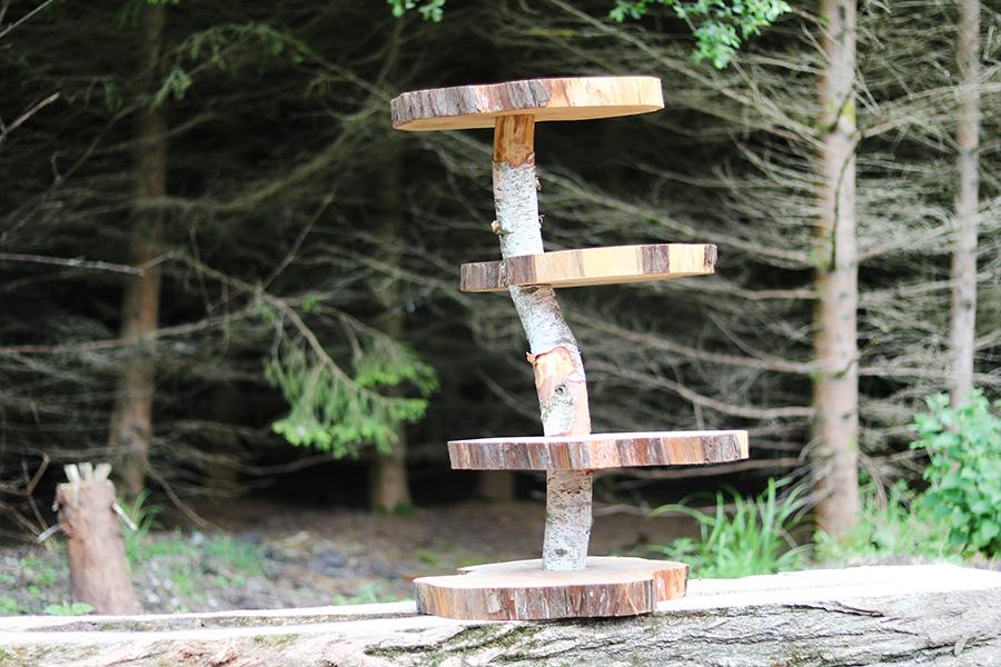 Wedding Wood Stand